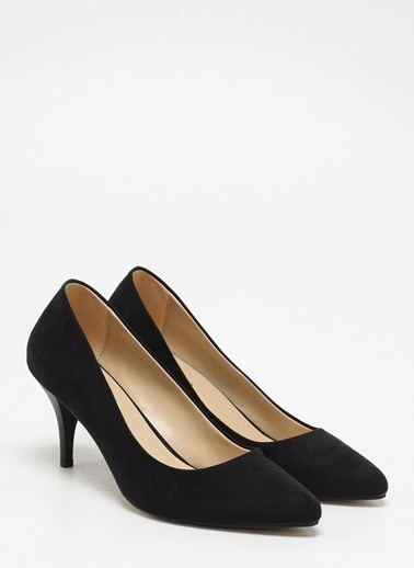F By Fabrika Kadın Gri Ayakkabı KURZ Siyah